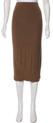 Organic by John Patrick Tonal Midi Skirt
