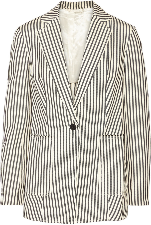 3.1 Phillip Lim 3.1 Phillip Lim Striped canvas blazer
