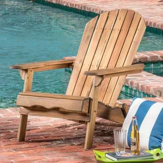 Birch Lane Heritage Ridgeline Solid Wood Folding Adirondack Chair