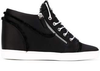 Giuseppe Zanotti Design contrast sole sneakers