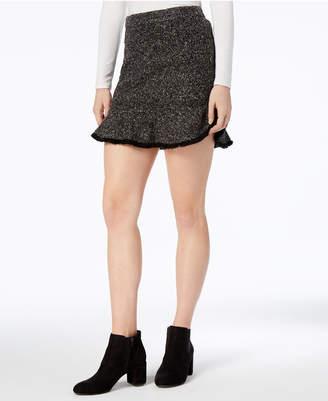 Parker Mare Mare Frayed Tweed Mini Skirt