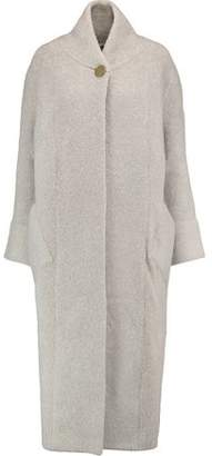 Soyer Wool-Blend Bouclé Coat