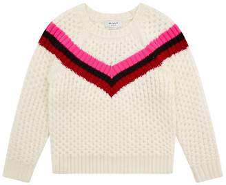 Milly Mini Chevron Stripe Sweater