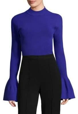 Diane von Furstenberg Bell-Sleeve Sweater
