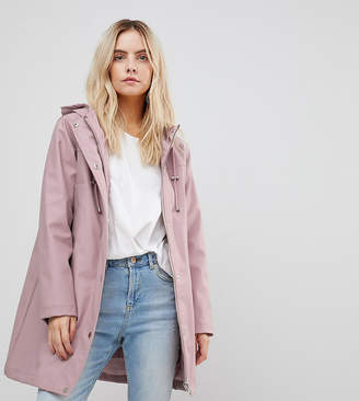 Asos Fleece Lined Raincoat