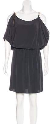 Ulla Johnson Silk Cold-Shoulder Dress