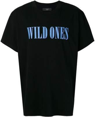 Amiri Wild Ones slogan T-shirt