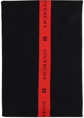 Givenchy Black Wool Scarf