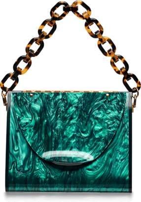 Edie Parker Triangle Solid Clutch