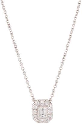 Diana M. Jewels 14k White Gold Diamond Pendant Necklace, 1.0tcw
