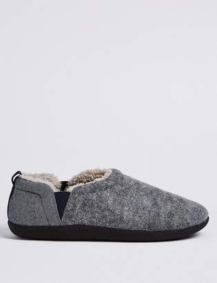 9cd1bdef60d Fresh Feet M S CollectionMarks and Spencer Slip-on Slippers with Freshfeet