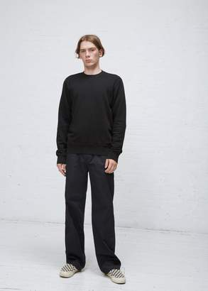 Maison Margiela Yoke Neck Elbow Patch Crew