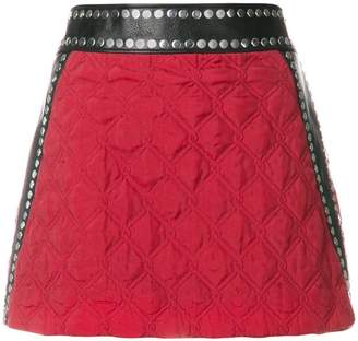 Alyx quilted pelmet skirt