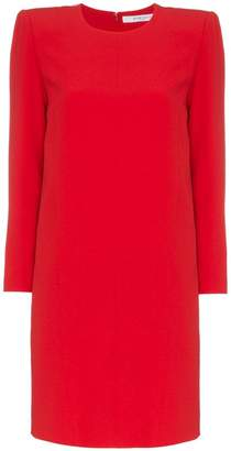 Givenchy exaggerated shoulders dress