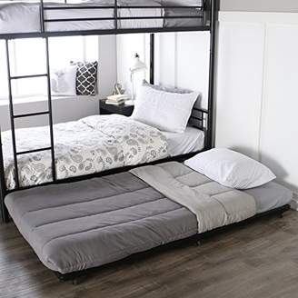 Walker Edison Twin Roll-Out Trundle Bed Frame