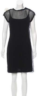 Lanvin Sleeveless Mini Dress