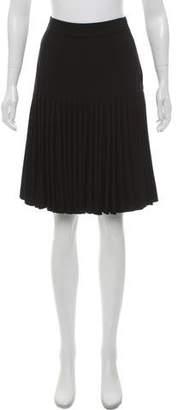 Derek Lam Pleated Knee-Length Skirt