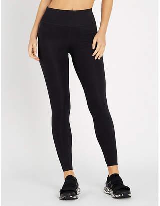 Calvin Klein side-stripe stretch-jersey leggings