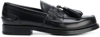 Prada classic fringed loafers