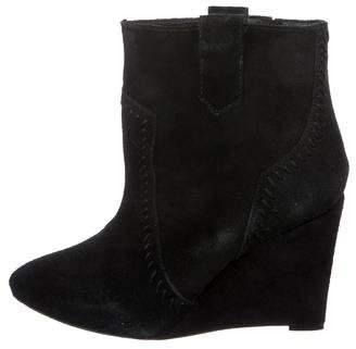 Rebecca Minkoff Suede Wedge Boots