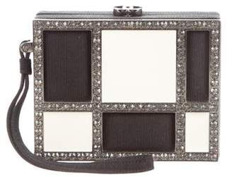 Chanel Embellished Box Clutch