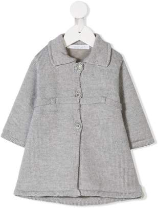 Cenere Gb knitted flared coat