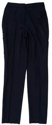 Reiss Mid-Rise Straight-Leg Pants