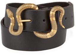 1f28f5c1df6ac Mens Snake Buckle Belt - ShopStyle
