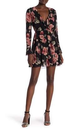 Honeybelle Honey Belle Long Sleeve Floral Printed Dress