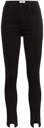 Frame ali split front jeans