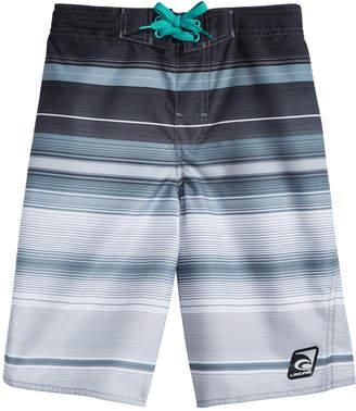 The Endless Summer Laguna Striped Swim Trunks, Big Boys