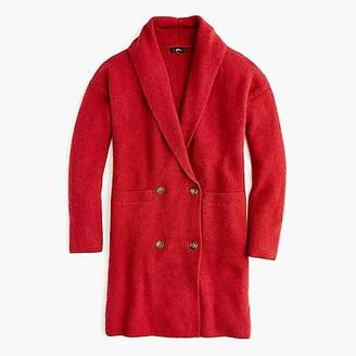 J.Crew Double-breasted cardigan coat in supersoft yarn