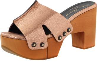 Clergerie Cetrid Wooden Clog Mule