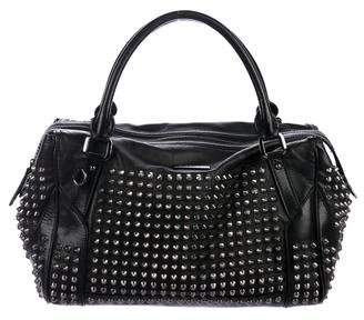 Burberry Studded Leather Tote
