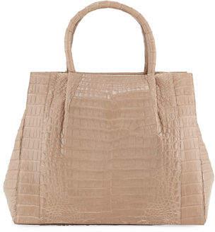 Nancy Gonzalez Medium Crocodile Carryall Tote Bag