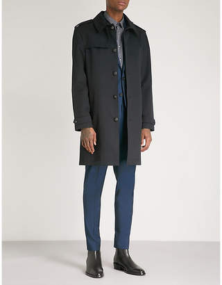 The Kooples Single-breasted cotton-twill trench coat