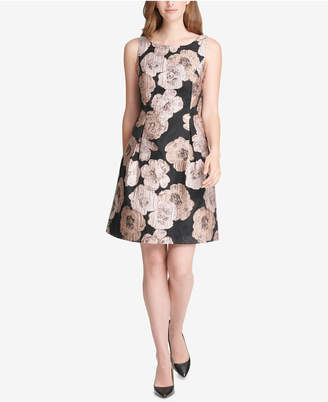Tommy Hilfiger Jacquard A-Line Dress