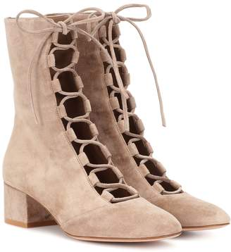 Gianvito Rossi Exclusive to mytheresa.com Delia suede ankle boots