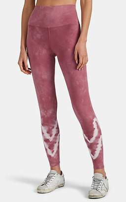 Electric & Rose Women's Sunset Tie-Dyed Stretch-Cotton Leggings - Pink