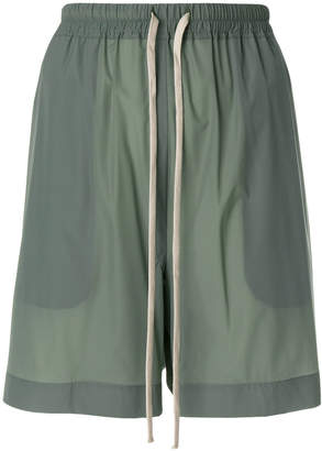 Rick Owens relaxed track shorts