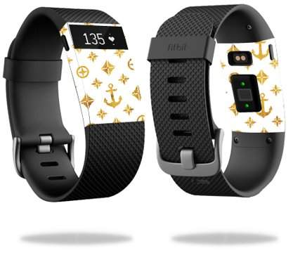 Mightyskins Skin Decal Wrap for Fitbit Charge HR cover skins