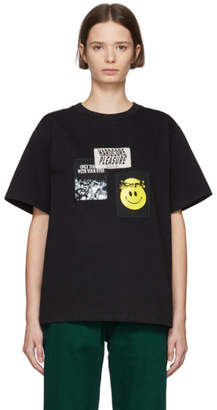 Misbhv Black Hardcore Raver T-Shirt