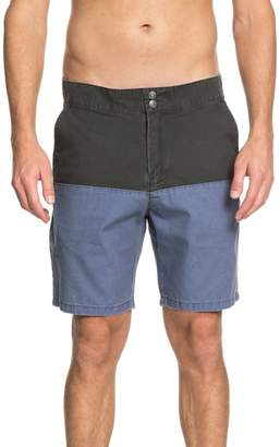 Quiksilver Mad Wax Block Shorts