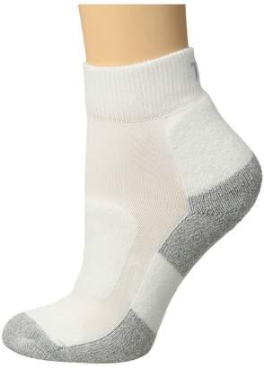 Thorlos Lite Walking Mini Crew Single Pair Women's Crew Cut Socks Shoes