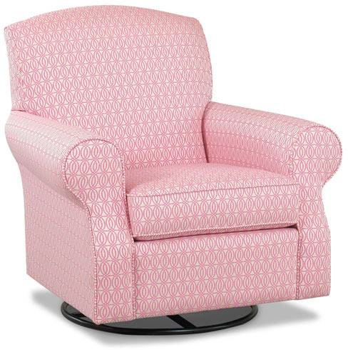 Brightwood Swivel Glider in Choice of Fabric
