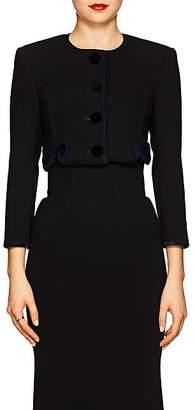 Zac Posen Women's Cady Crop Jacket - Black