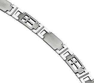 "Forza 8"" Cross Link Bracelet"