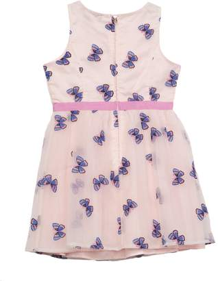 Juicy Couture Butterfly Embroidered Organza Dress for Girls