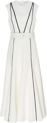 Emilia Wickstead Denvella Piping Midi Dress
