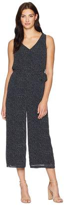 Lauren Ralph Lauren Jacy Auburn Spaced Dot Jumpsuit Women's Jumpsuit & Rompers One Piece